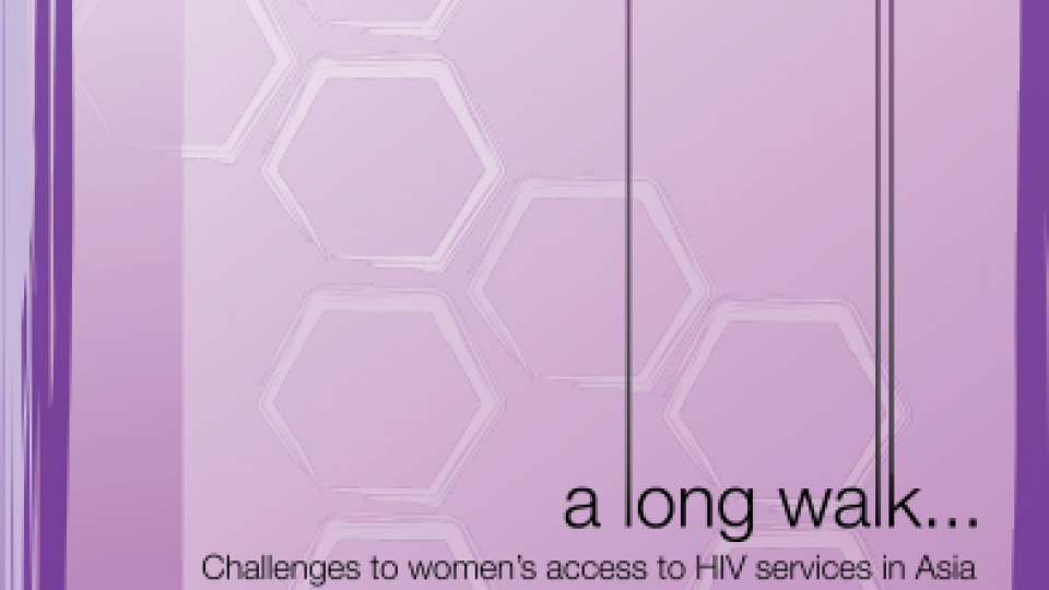 A long walk challenges woman HIV